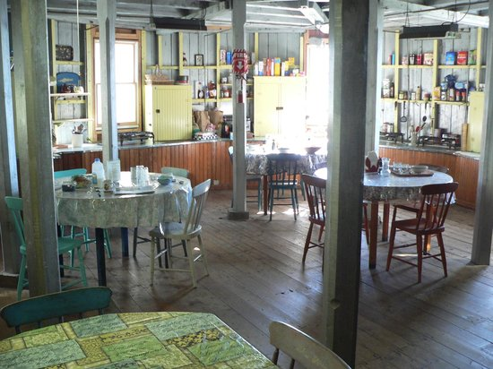 The 8th Maine Regiment Lodge and Museum: The dining room