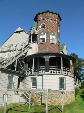 The 8th Maine Regiment Lodge and Museum: You can stay in The Tower.