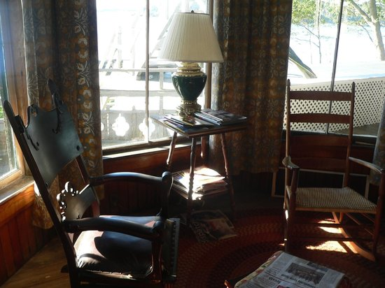 The 8th Maine Regiment Lodge and Museum: Reading niche