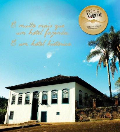 Hotel Fazenda Dona Carolina: O Melhor Hotel Fazenda 2013/14