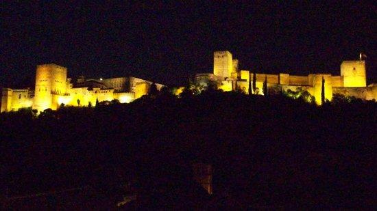 Alhambra Apartamentos Turísticos: La vista dalla terrazza