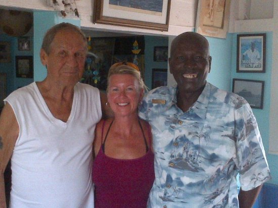 Peace and Plenty: Stacey with Jim and Doc