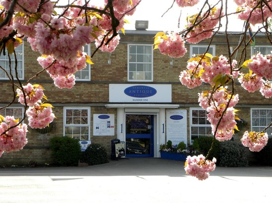 Hemswell Cliff, UK: Building One with the Blossom