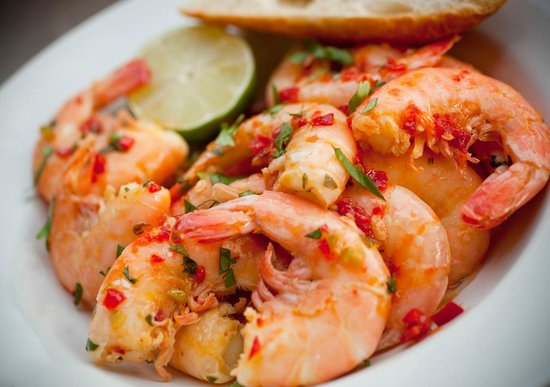 Doc Ford's Rum Bar & Grille Captiva: Featured in NY Times Yucatan Shrimp