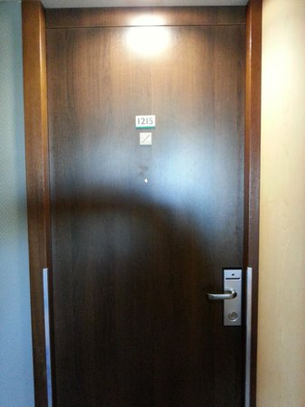 Novotel Amsterdam City: room number