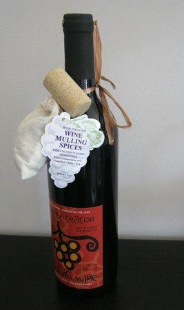 Strewn Winery: Mulling wine & spice kit