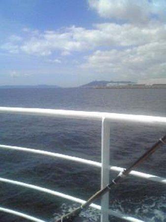 Kobe Bay Cruise: 明石海峡大橋が見えます