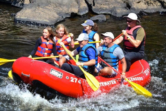 Whitewater Challengers: Lehigh River Gorge rafting