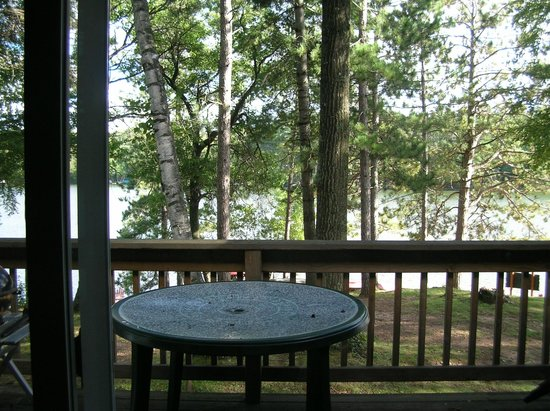 Hiller's Pine Haven: View from the deck