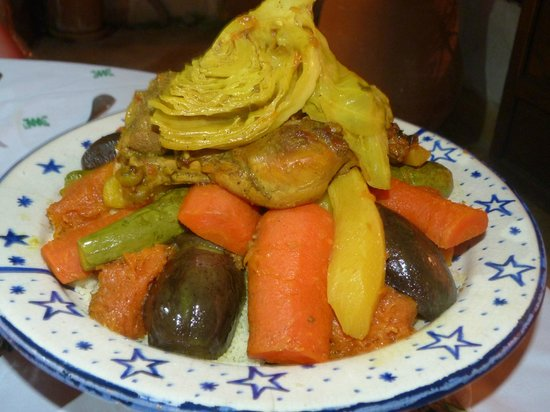 Riad Tibibt: Août 2013. Le couscous pour ... nous 2.