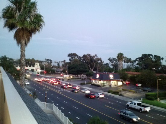 BEST WESTERN PLUS Marina Shores Hotel: From Room 234 balcony at sunset in Dana Point