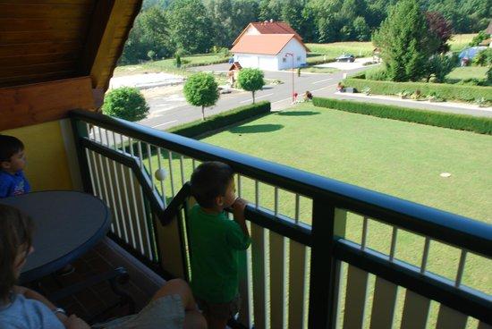 Hotel Garni Thermengluck: giardino