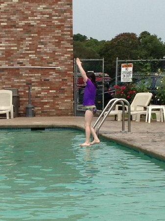 Cape Colony Inn : you can even walk on water.