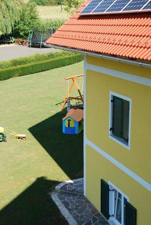 Hotel Garni Thermengluck: parco giochi