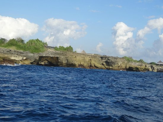 Two Fish Divers Lembongan: Ride to Cristal Bay