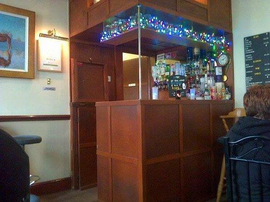 White Heather Hotel: The bar area