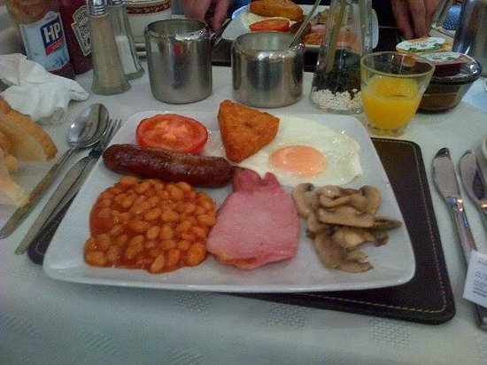 White Heather Hotel: The lovely breakfast we had every morning. Very filling!