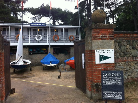 Boathouse Cafe, Bawdsey