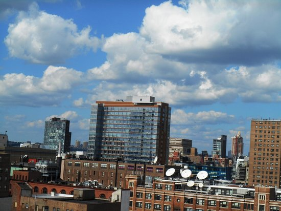 plunge Rooftop Bar & Lounge at Hotel Gansevoort: view from rooftop bar