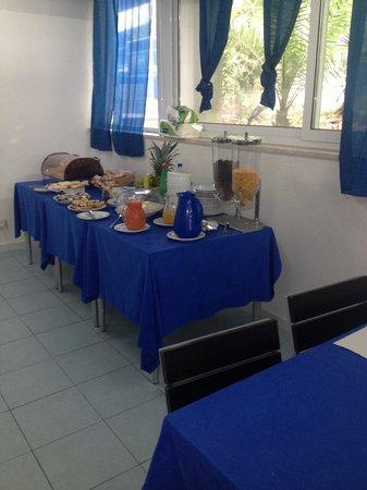 Hotel Meson Feliz: Breakfast