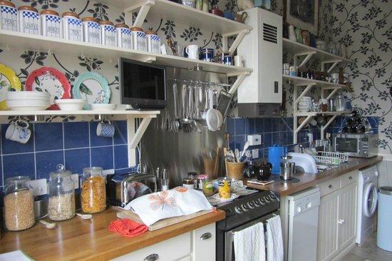 16 Broughton Place: la cucina