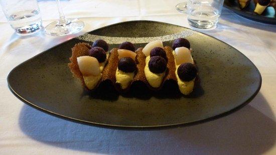 Le Belvedere : La vague, un dessert très léger !