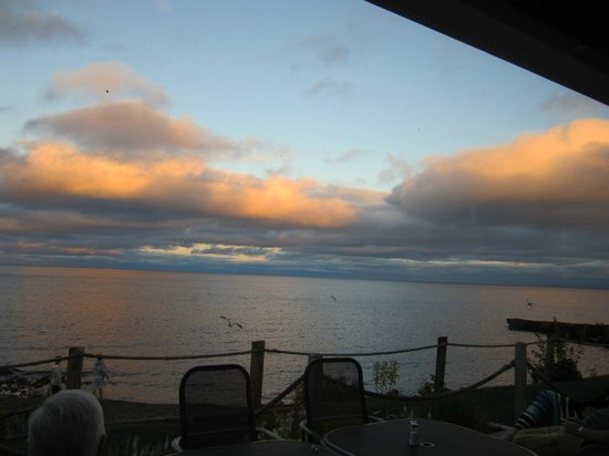 Bluefin Bay on Lake Superior: View from the Bluefin Grille