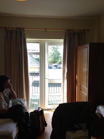 Hotel Curracloe: balcony off room
