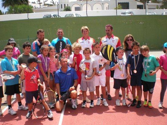 Corralejo Tennis Academy: Kids tennis camp Los Barqueros