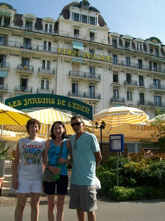 Eden Palace au Lac: Outside Hotel