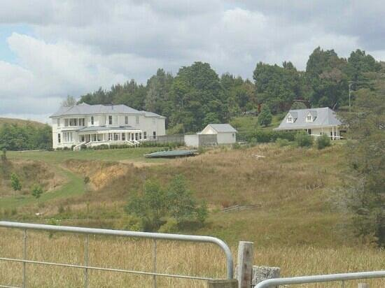 Kylemore: view of the house from the farm