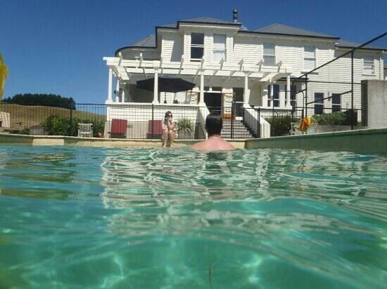 Kylemore: morning swim
