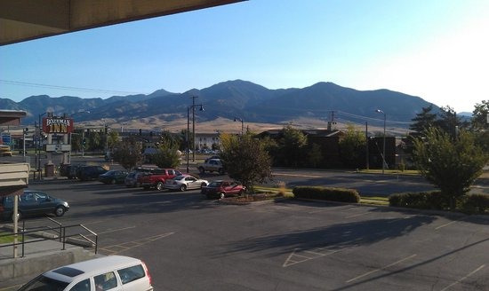 Bozeman Inn: View from room