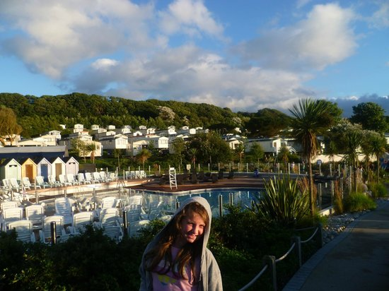 Outside pool picture of littlesea holiday park haven - Swimming pools in weymouth dorset ...