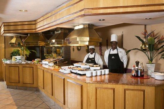 Harrismith Inn: Buffet Area