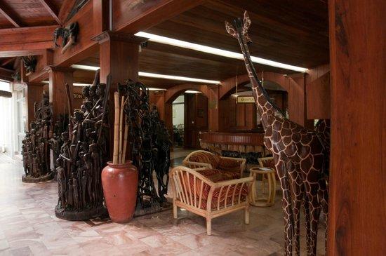 Impala Hotel: la hall