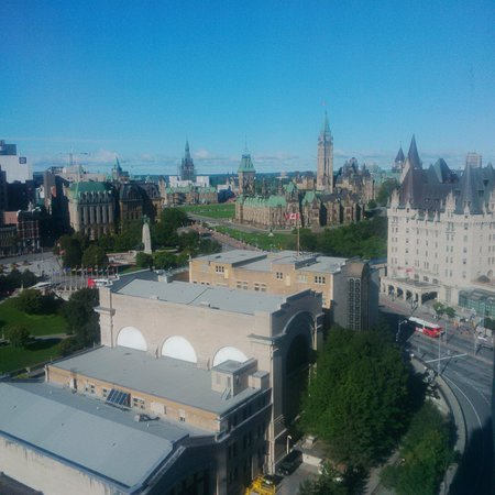 The Westin Ottawa : View from our rom!