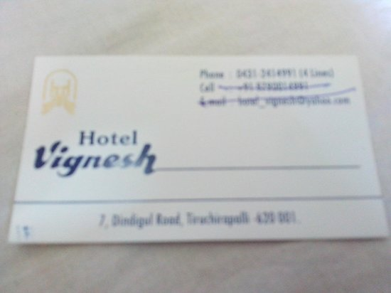 Vignesh Hotel