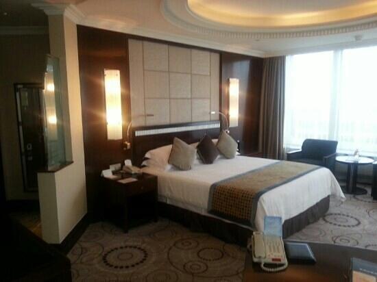 Grand Soluxe Zhongyou Hotel Shanghai: 객실전경 2620호실