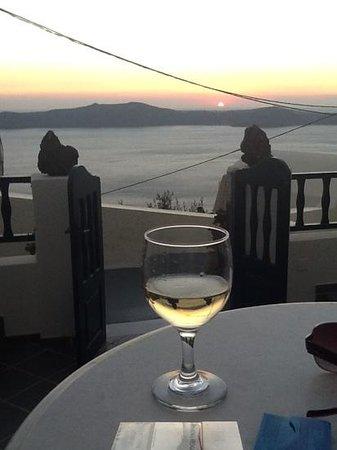 Santorini View : balcony view