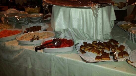 Club Village Forte Cappellini: cena antipasto