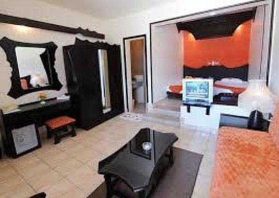 Aida Hotel Sharm El Sheikh El Hadaba : inside room for twin bed as my room look like