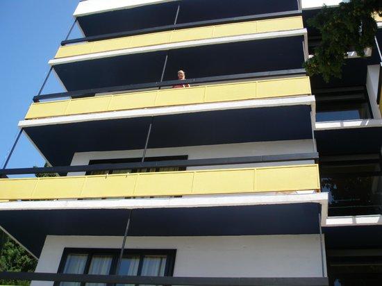 Hotel Ilirija : The balcony of our room