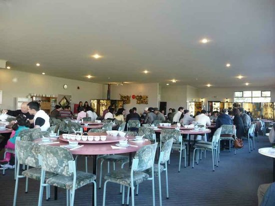 China City Licensed BYO Restaurant: Restaurant interior.  Too many tourists came in bus loads.