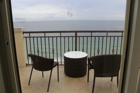 The Atlantic Hotel & Spa: Vista desde el balcon, imposible una mejor !!