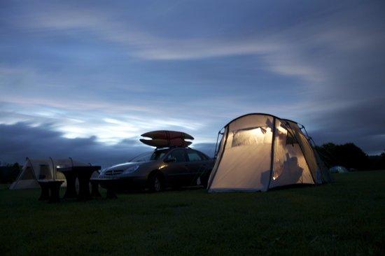 Loch Ken Holiday Park: Evening