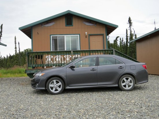 Alaska Lodging & Adventures : Easy access to the cabins.