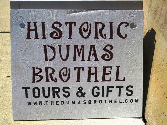 Dumas Brothel Museum: Dumas Brothel