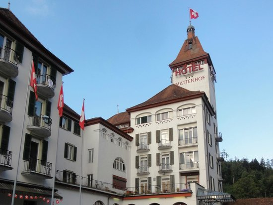 The Park-Garden Hotel at Mattenhof Resort: 宿泊するだけなら十分なホテルです。
