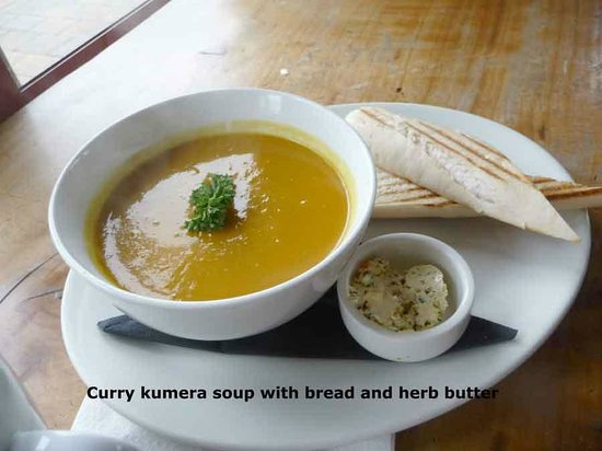 Sandfly Cafe: Curry pumpkin soup